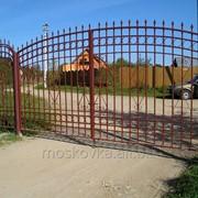 Распашные ворота св11 фото