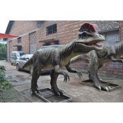 Динозавр dilophosaurus 5*1*2m двигается и кричит Установлен на Атакенте 8400$ новая цена 5000$ Б.У. фото