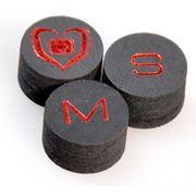 Наклейка для кия Black Heart ORIGINALS (M) 14 мм Лузы шары другие бильярдные принадлежности фото