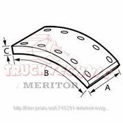 Накладки тормозные (комплект на ось) 410х223 1-й рем. MAN 2000,TGA, MERCEDES-BENZ Actros (пр-во Truc