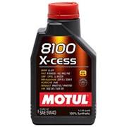 Моторное масло MOTUL 8100 X-cess 5W-40 1л фото