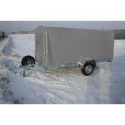 Прицеп 012А для перевозки 1 снегохода с Тентом в Караганде фото