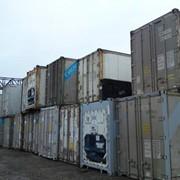 Рефконтейнер 40ф высокий фото