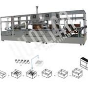 Автоматическая упаковочная линия низкого типа для заклейки и стрейпинг-обвязки XFK-1D фото