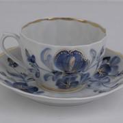 Чайная Пара Голубая Магнолия УП фото