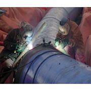 Монтаж реконструкция ремонт наладка трубопроводов пара и горячей воды фото