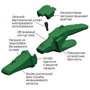 система зубьев для экскаваторов Агрегаты бульдозерно-рыхлительные Строительный спецавтотранспорт Спецавтотранспорт и навесное оборудование фото