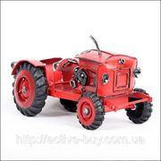 Классическая железная модель сельскохозяйственный трактор,США фото