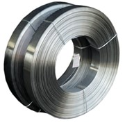 Лента стальная плющенная 0,3 мм Х15Н60 фото