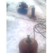 Отогрев замерзших водопроводных и канализационных труб. фото
