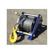 Лебедка канатная Дина 2 г/п от 250 до 1000 кг L от 20 до 60 метров фото