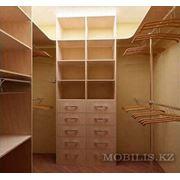 Гардеробные на заказ Астана Шкафы гардеробные на заказ в Астане фото