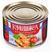 Килька балтийская неразделанная в томатном соусе фото