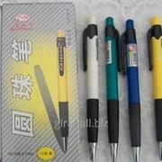 Ручка шариковая, автоматическая, цвет синий НО-505 фото