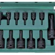 Набор головок ударных TORX T10-T60 (12 предметов) HANS 896014-12 фото