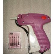 Игольчатый пистолет для бирок + 5 иголок фото
