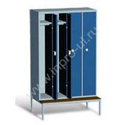 Шкаф для спецодежды Комби 11С фото