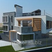 Строительство элитных домов. фото