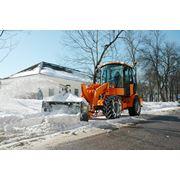 Снегометатель роторный для погрузчиков серии ВМЕ фото