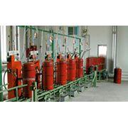 Установка для заправки газовых баллонов рядного исполнения фото