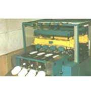 Автоматизированная линия по производству картонных тарелок АЛТ-4 фото