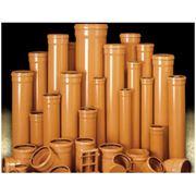 Трубы пластиковые для внутренней канализации из ПВХ фото