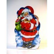 Новогодняя упаковка Баул Дед Мороз фото