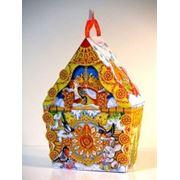 Новогодняя упаковка Колобок домик кукушки фото