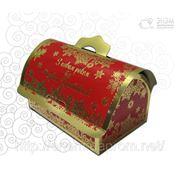 Новогодняя упаковка «Сундучок»