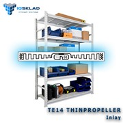 Самоклеющаяся RFID-метка TE14 Thinpropeller фото