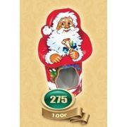 Новогодняя упаковка Дед Мороз 100 грамм фото