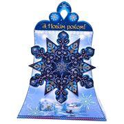 Новогодняя упаковка Снежинка без металла фото