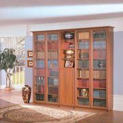 Шкафы книжные со стеклом в москве - цены, фото, отзывы, купи.