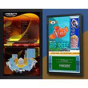 Монитор для рекламы информационная панель рекламные дисплеи фото