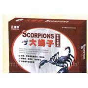 Пластырь «Скорпион» для снятия боли при болезнях позвоночника