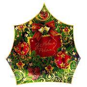 Новогодняя упаковка Елка Золотая фото