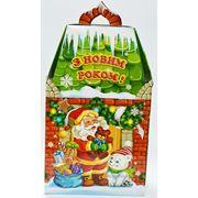 Новогодняя упаковка Дед Мороз и Мишка фото