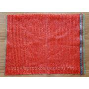 Сетка овощная оптом, СІТКА ОВОЧЕВА, цвет красный, размер 50х80 фото