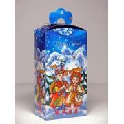 Новогодняя упаковка Коляда голуб.красн.син. фото