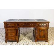 Письменный стол из массива ФЛОВЕР фото