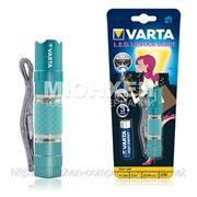 Фонарик VARTA 16617 EASY LINE LED Lipstick Light 1AA blue фото