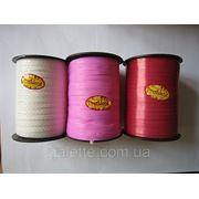 """Лента тонкая""""Флора""""0,5мм (код 01756)белая,красная,розовая фото"""