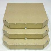 Коробки для пиццы, 380х380х37, бурая
