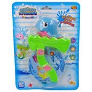 """Дельфин для ванной """"Веселое купание"""", в наборе с аксессуарами, 2 вида"""