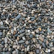 Гравий, галька речная фото