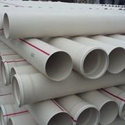 Трубы канализационные из ПВХ фото