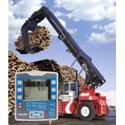 Весы для стреловых погрузчиках и для измерения объемов древесины фото