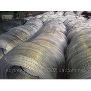 Проволока алюминиевая твёрдая АТ ф 1,7-8,0 (Al=99,5-99,7%) фото