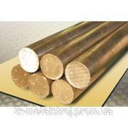 Пруток бронзовый БрАЖ9-4 ф20 фото
