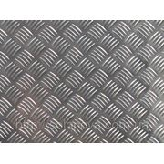 Лист алюминиевый рифленый (квинтет) 3,0х1000х2000мм, в наличии г.Днепропетровск фото